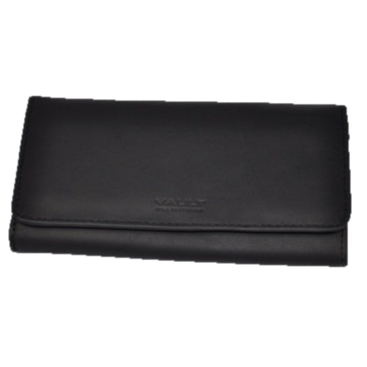 Vault RFID Women's Leather Frame Clutch