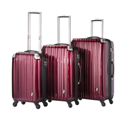 Heys Velocity 4 Wheel Spinner Set of 3 Suitcases