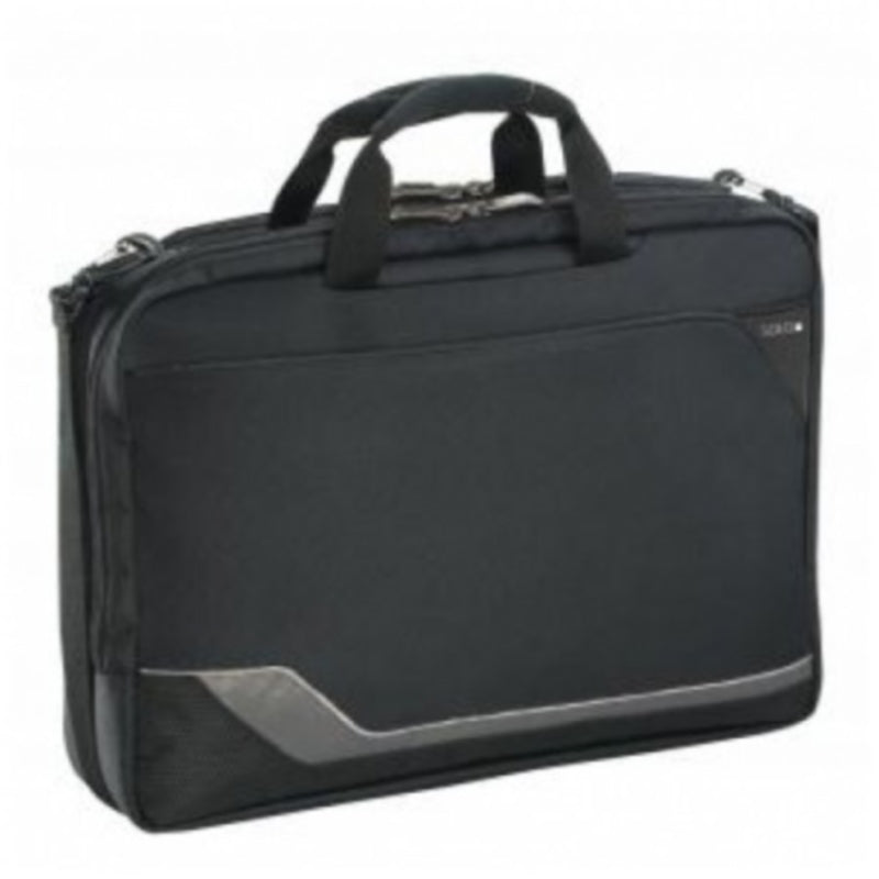 Solo Classic Collection CheckFast Clamshell Laptop Portfolio