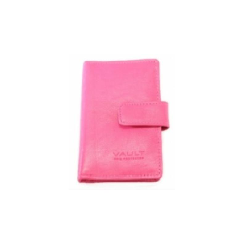 Vault RFID Leather Tabbed Credit Card Holder
