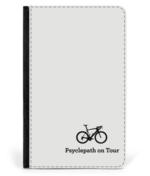 Passport Cover Faux Leather - Psyclepath On Tour