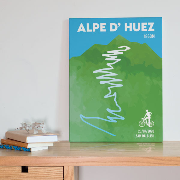 Canvas Print - Personalised Alpe D' Huez