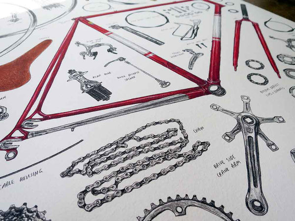 Anatomy of a Bike by David Sparshott - FREE UK DELIVERY