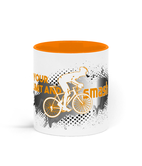 Find Your Limit Cycling Two Toned Mug - Choice of Colours