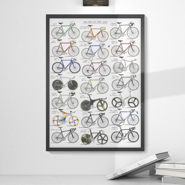 Iconic Road and Track Bikes by David Sparshott - FREE UK DELIVERY