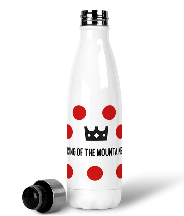 Premium Stainless Steel Water Bottle - King of The Mountains