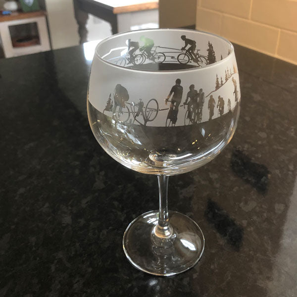 Milford Collection Cyclist Gin Glass in Gift Box