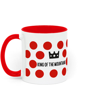 King of the Mountains - Two Toned Ceramic Mug