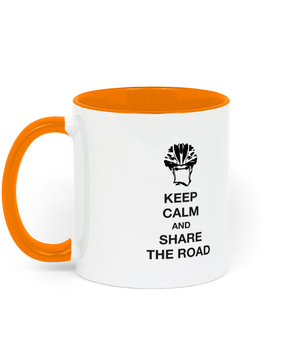 Keep Calm - Two Toned Ceramic Mug