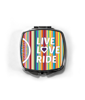 Compact Mirror - live love ride!