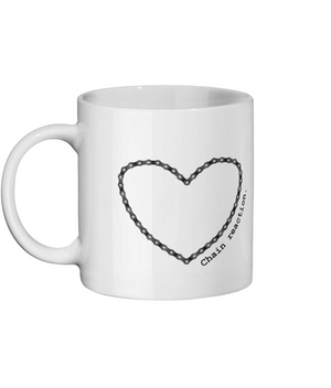 The Love of Cycling Chain Reaction Ceramic Mug