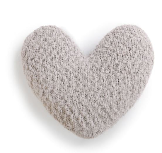 Giving Heart Pillow Taupe