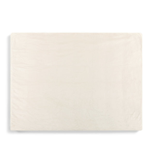 Weighted Throw Blanket Cream