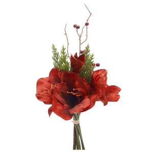Amaryllis Bouquet with Pine
