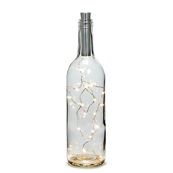 Bottle Lightstring with 20 Led Lights Warm