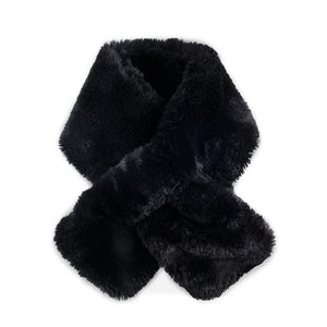 Luxury Faux Fur Pull Scarf