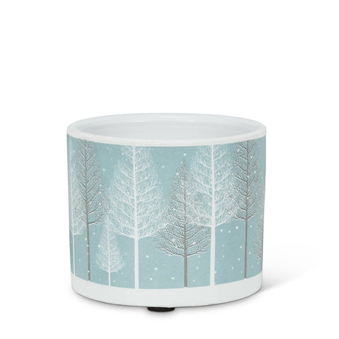 Snowy Forest Planter Extra Small