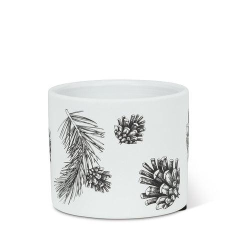 Pinecone and Branch Planter Extra Small