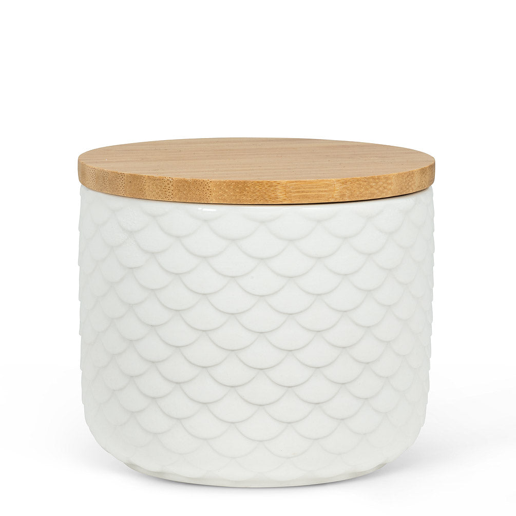 Textured Covered Canister