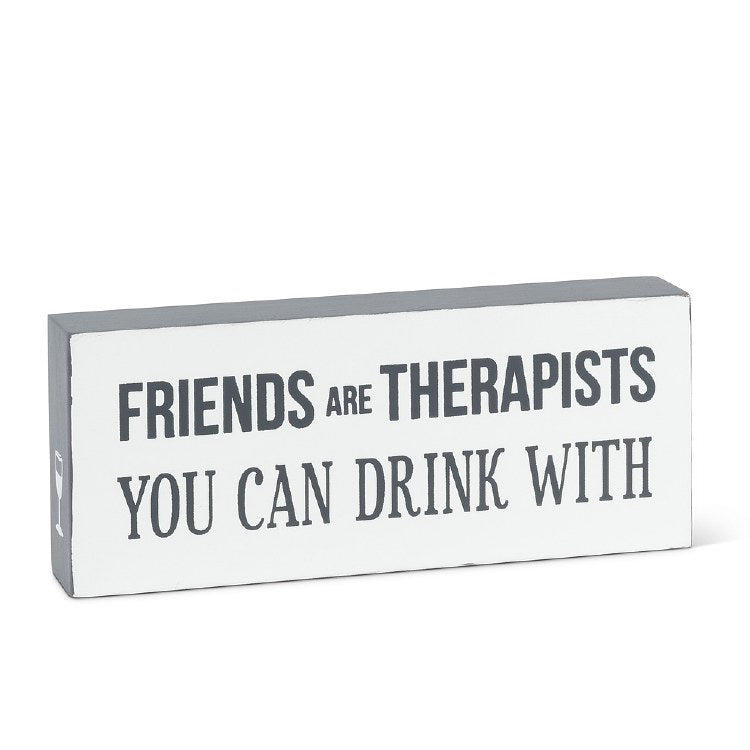 Friends are Therapists Block