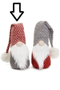 Scandinavian Santa with Red Folded Hat