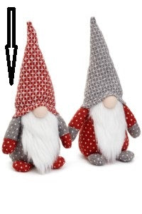 Scandinavian Santa with Red Hat