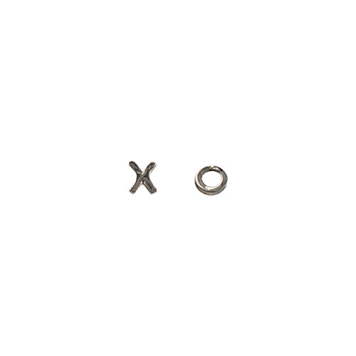 Handmade X + O Earrings