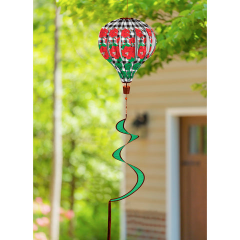 Geranium Plaid Balloon Spinner