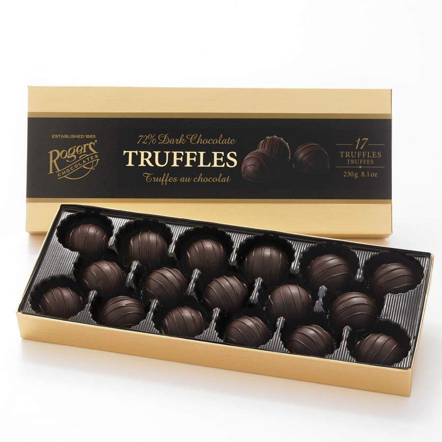 72% Dark Truffle Assortment