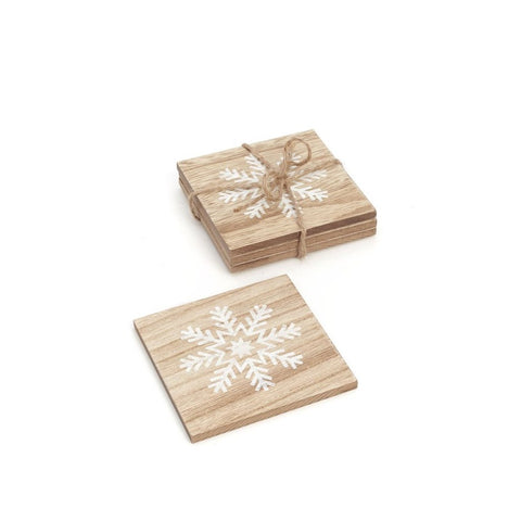 Snowflake Coaster Set of 4