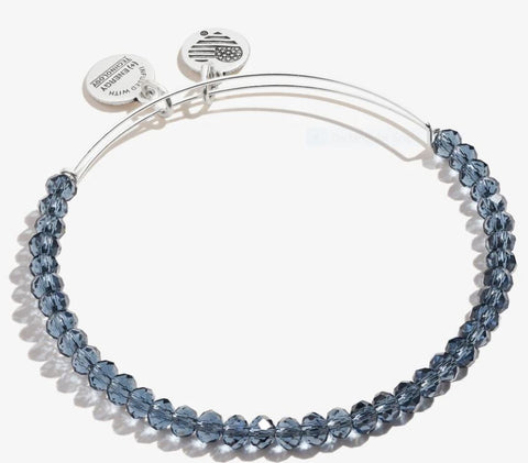 Brilliance Bead Bracelet Navy, SR