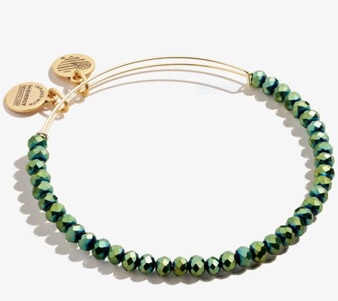 Brilliance Bead Bracelet Emerald, SR