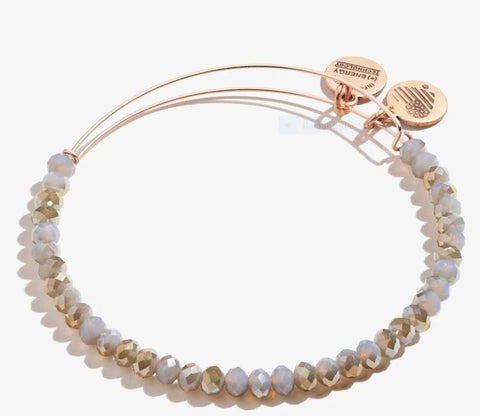 Brilliance Bead Bracelet Mauve, SR