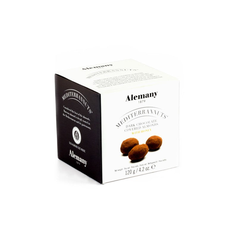 Alemany Dark Chocolate covered Almonds with Honey