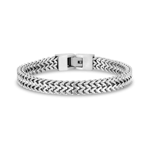 Double Franco Stainless Steel Bracelet