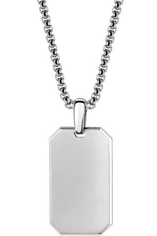 Dog Tag Matte Finish
