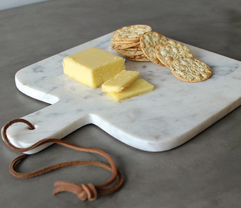 Marble Cheese Board Paddle