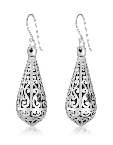 Large Drop Exotic Earrings