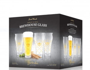 Barley & Hops Brewhouse Glass