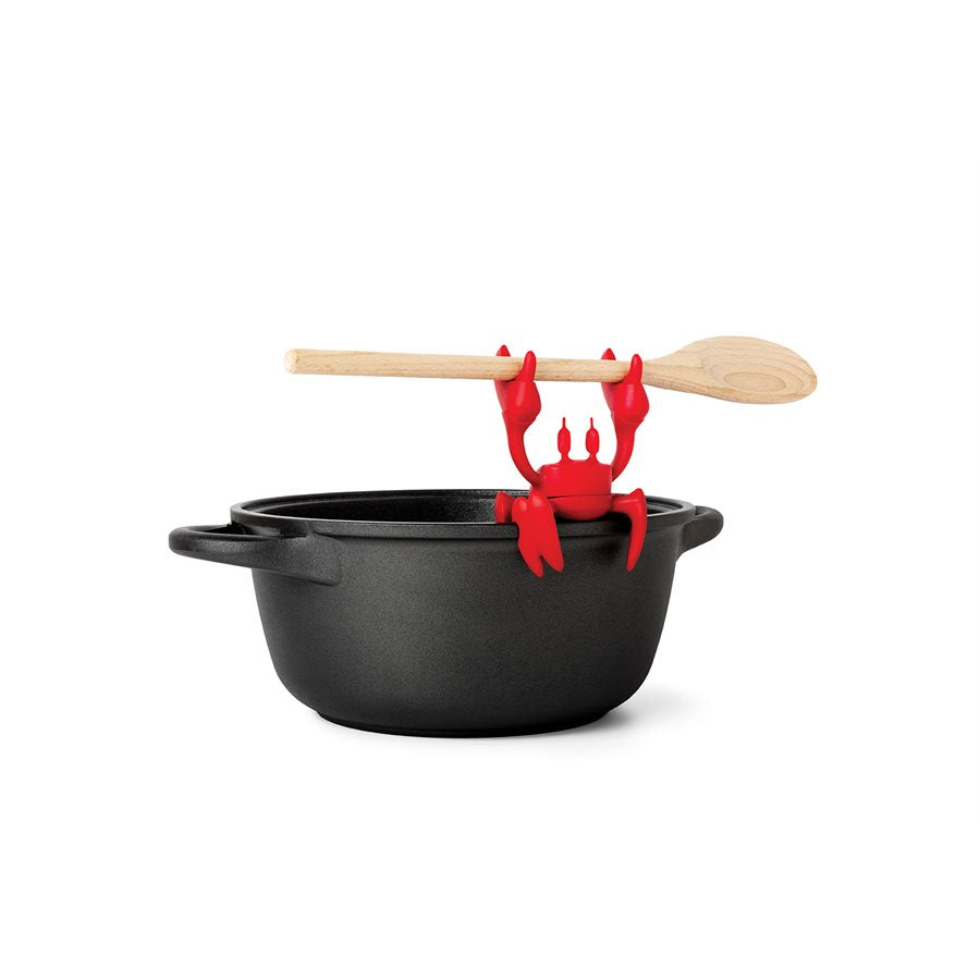 Red Spoon Holder and Steam Releaser