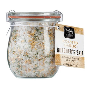 Roasted Garlic Butcher's Salt