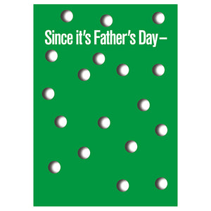 18 Holes - Father's Day Card