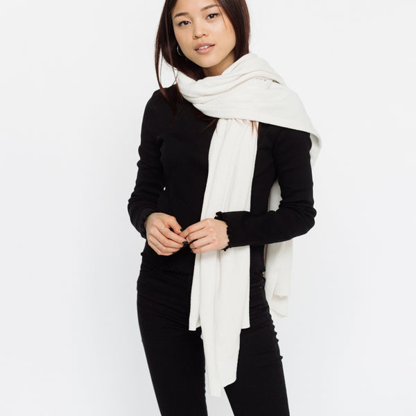 Faux Cashmere Blanket Scarf