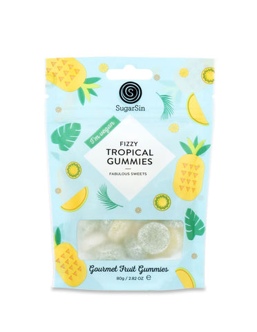Fizzy Tropical Gummies Vegan