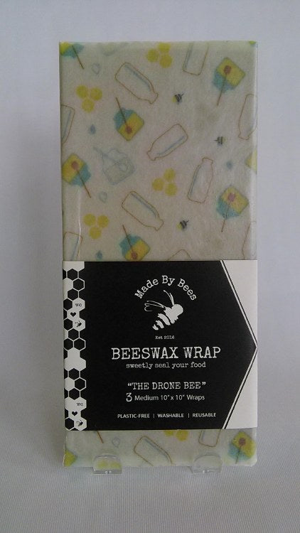 Beeswax Wraps - Drone Bee med