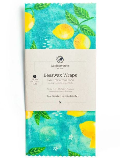 Beeswax Wraps - Hive 3 Assorted Sizes