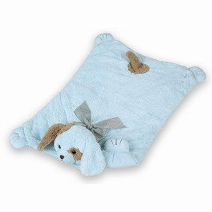 Waggles Belly Blanket (Blue)