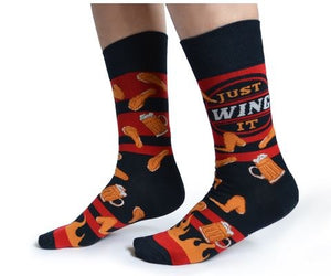 Wing it Crew Socks