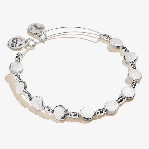 Coin Metal Bangle SS