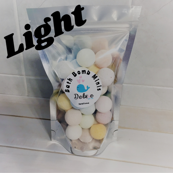 Mini Bath Bombs in a bag